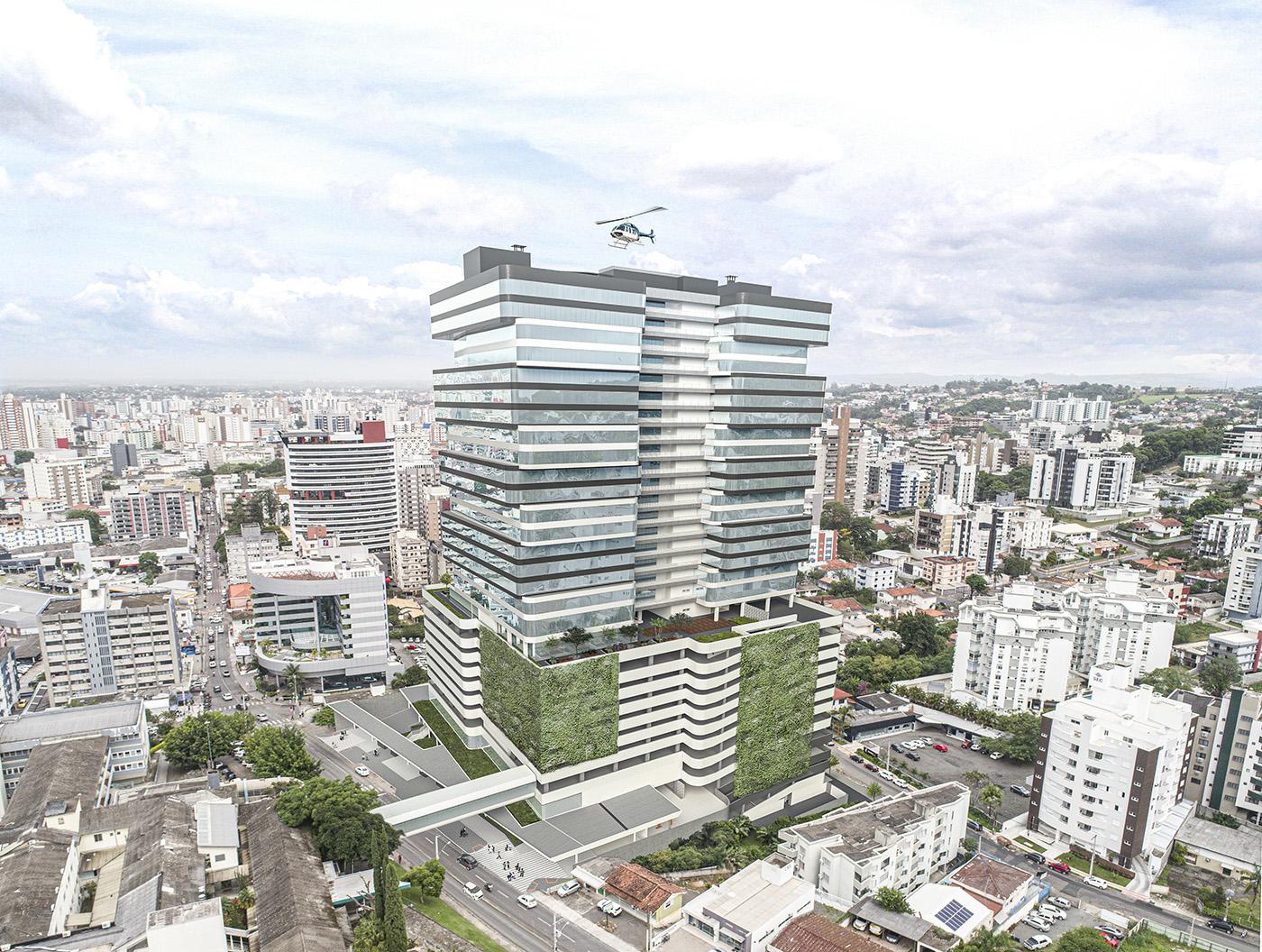 Localização privilegiada, no centro de Criciúma, há poucos metros do Hospital São José